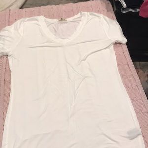 White Tee New without Tags L